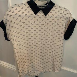 Club Monaco silk shirt